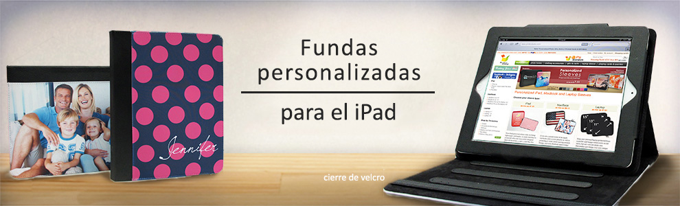 Fundas persoalizadas para iPads
