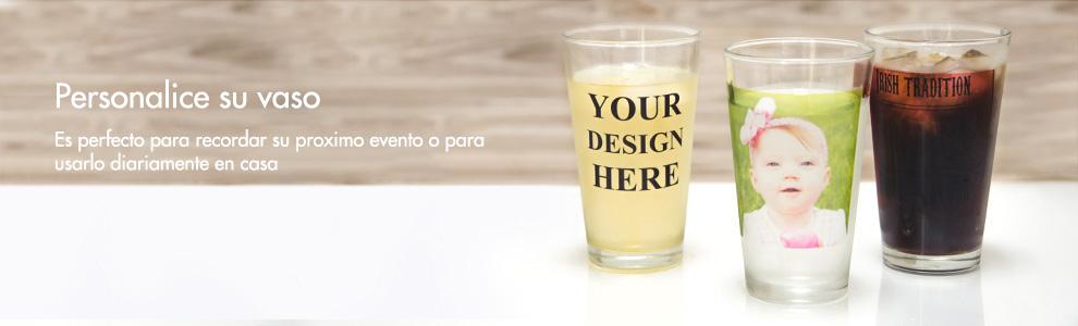 Vasos personalizados para beber