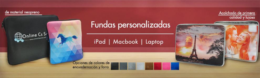 Fundas personalizadas de primera calidad para iPads, Macbooks y ordenadores portatiles