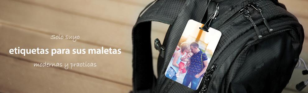 Etiquetas de equipaje personalizadas
