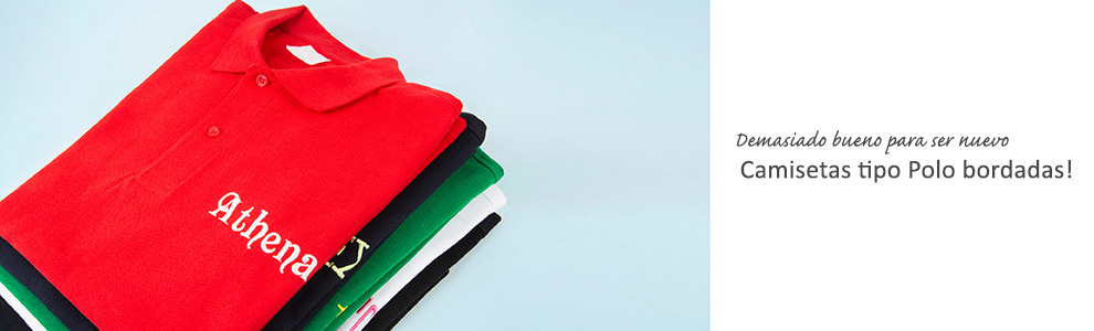 Camisetas polo personalizado