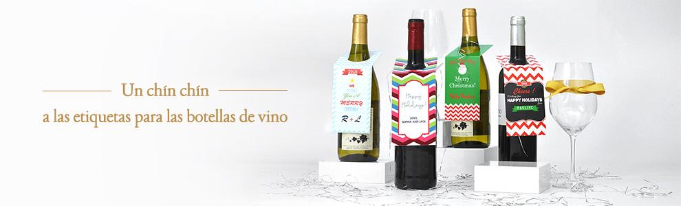 Etiquetas de vino personalizadas