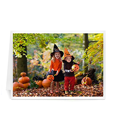 Personalized Full Photo Halloween Photo Cards