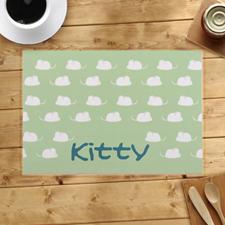 Alfombras de cocina personalizadas para gatitos