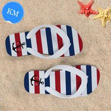 Sandalias personalizadas con nombre diseño