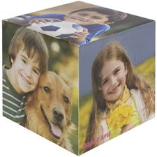 Foto-cubo de madera personalizado, 5 paneles