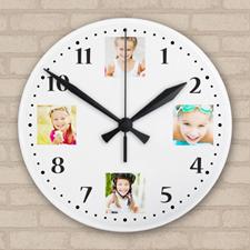 Reloj de acrílico personalizado con diseño