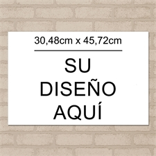 Impresión de póster de fotos imagen n simple 30.48 cm x 45.72 cm paisaje