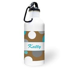 Botella de agua personalizada con foto del Chico Lunares