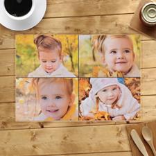 Collage de cuatro fotos personalizadas