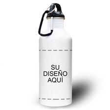 Botella de agua personalizada con foto y tu diseño aquí