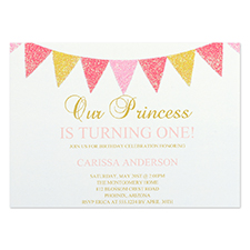 Personalized Party Time Party Invitation Card