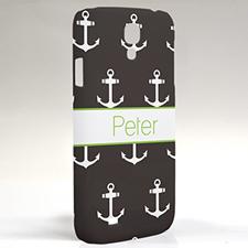 Custom Design Black Anchors Samsung Phone Case