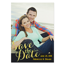Personalized Perfect Match Save The Date Cards
