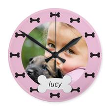 Reloj personalizado con diseño