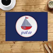 Personalized Ship Placemats