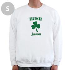 Diseña tu propia sudadera irlandesa, blanca
