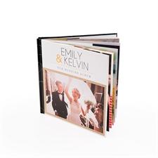 Libro de fotos personalizado de tapa dura de 20.32 cm x 20.32 cm cuadrada
