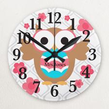 Reloj personalizado sin marco con diseño