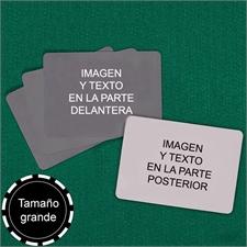 Naipes naipes personalizados   de tamaño grande con paisaje ( Cartas en blanco)