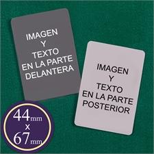 Naipes de 44 mm X 67 mm naipes personalizados con el motivo mini Europa