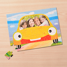 Personalizado My Car 30.48 cm x 41.91 cm Photo Puzzle