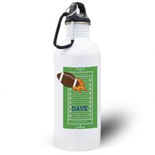 Botella de agua personalizada para niños con Fútbol