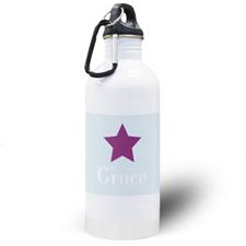 Botella de agua personalizada para niños con Mi Pequeña Estrella