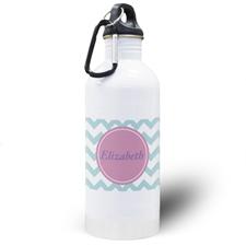 Aqua símbolos personalizados Botella de agua
