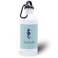 Botella de agua personalizada con Caballito de mar