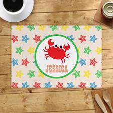 Alfombrilla personalizada de cangrejo