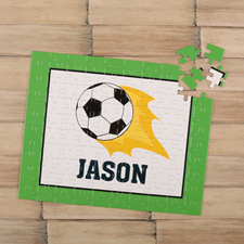 Soccer Personalized Kids Puzzle
