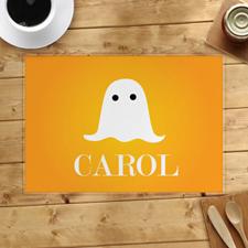 Alfombra de Halloween personalizada por un fantasma