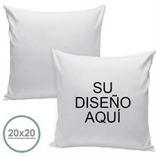 50.80 cm x 50.80 cm Cojín de diseño personalizado (respaldo blanco) Cojín (sin inserción)