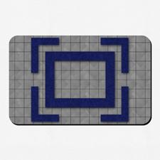 Diseño personalizado 40.64 cm X 25.40 cm Tapete de juego