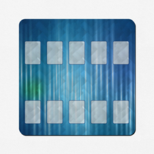 Ilustración personalizada 45.72 cm X 45.72 cm Tapete de juego