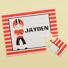 Football Personalized Kids Puzzle