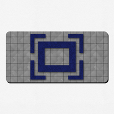 Impresión completa a todo color 35.56 cm X 71.12 Tapete de juego