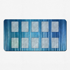 Tapete de juego con impresión persoanlizada y a todo color 35.56 cm X 71.12
