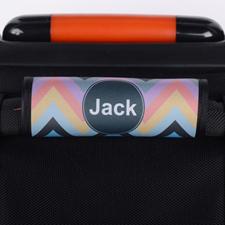 Envoltura de asas de equipaje Personalizado con Chevron colorido de Mango
