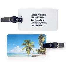 Etiqueta de equipaje personalizada con Galería