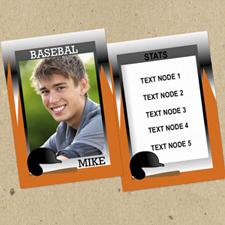 Béisbol Deportes personalizados Foto Tarjetas de intercambio Set de 12
