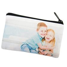 Bolsa cosmética personalizada con collage de fotografías 8.8x15.24