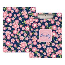 Portapapeles personalizado diseño rosa  floral