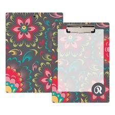 Portapapeles personalizado con diseño  floral
