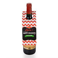 Etiqueta de vino personalizada con