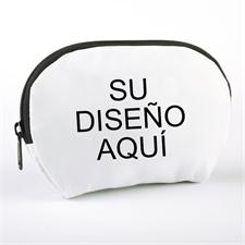 Bolsa cosmética personalizada a todo color con cremallera 17.2x12.19 (1 Imagen)