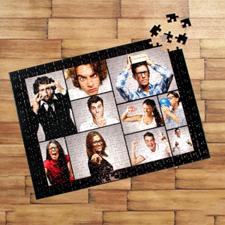 Personalizado negro Ten colage 30.48 cm x 41.91 cm Personalizado Photo Jigsaw rompecabezas Photo Puzzle