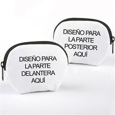 Bolsa cosmética personalizada a todo color 12.7x10.1 (2 imágenes)