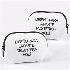 Bolsa cosmética personalizada a todo color con cremallera 17.2x12.19 (2 Imágenes)